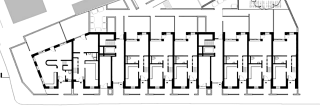 Obr. 08 Bridport House – první a druhé patro